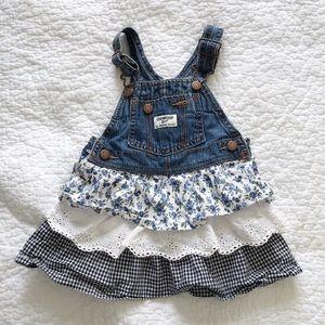 OshKosh dress overalls